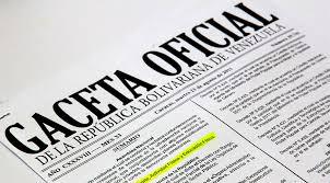 Vea en Gaceta oficial Nº 41246 últimos decretos de la Asamblea Nacional Constituyente