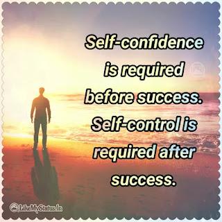 Self confidence quote