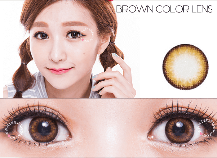 gg a21 brown circle lenses