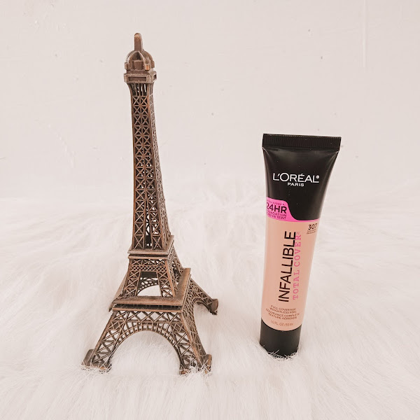 L'Oreal Infallible 24H Total Cover Foundation in Shade 307 - Review