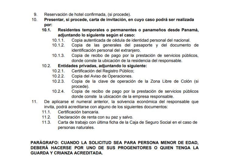 Requisitos para la visa de Panama. Solicitud y requisitos para la visa panameña. Requisitos para los venezolanos visa Panama...