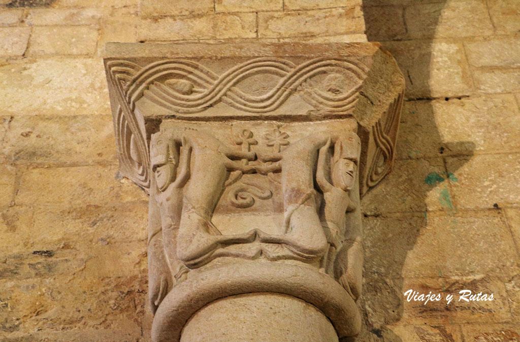 Capiteles de San Martiño de Mondoñedo, Lugo