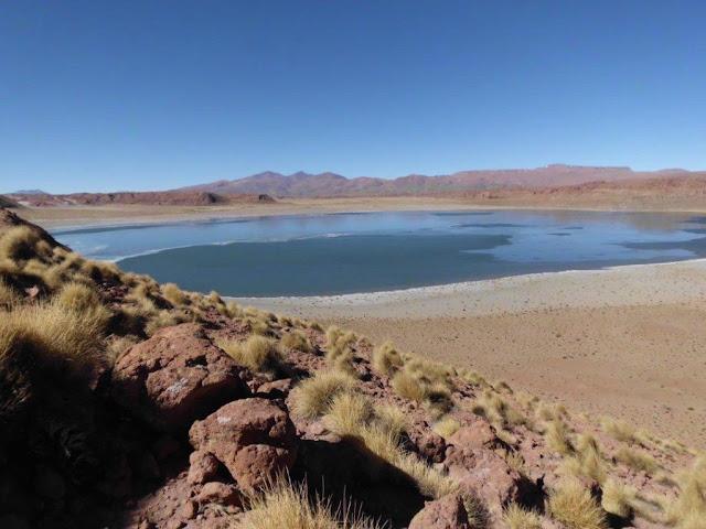 Eine beeindruckende Landschaft mit Lagunen