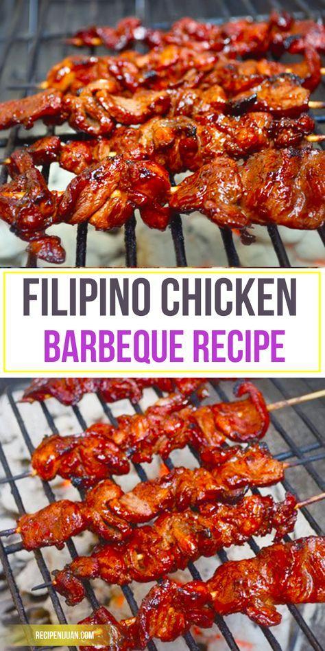 Filipino Chicken Barbecue Recipe