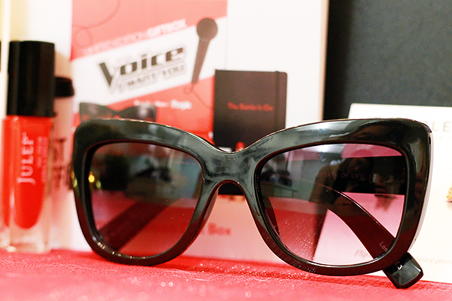 Quay Sunglasses in People x The Voice Gift Box