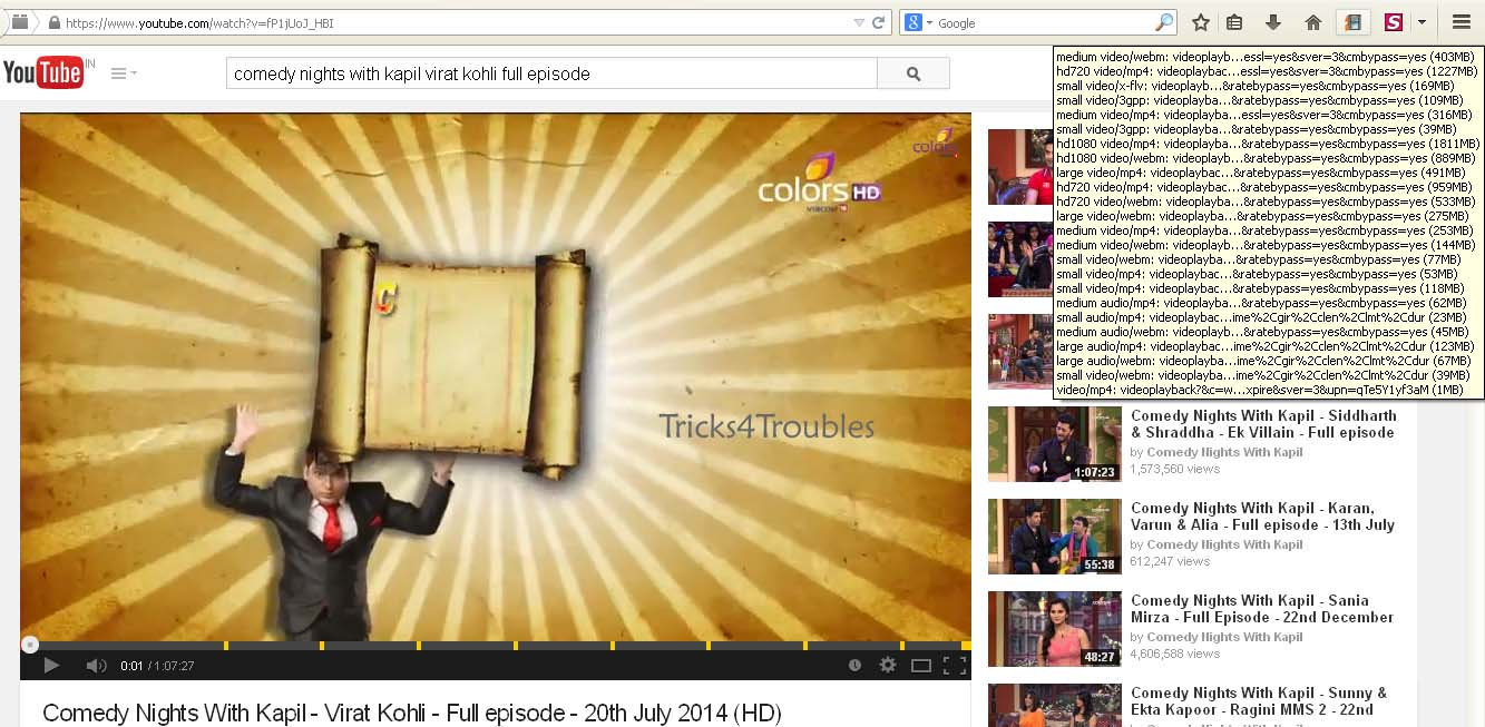 1 click youtube downloader addon