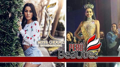 Camila Escribens es Miss Grand Perú 2019