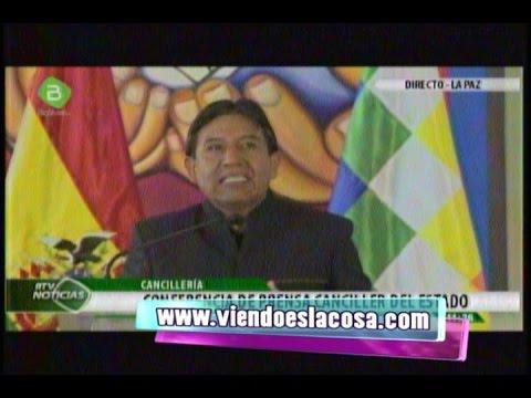 CHOQUEHUANCA: ESPERÁBAMOS UNA LLAMADA DEL PRESIDENTE SANTOS Y LO INVITE A NUESTRO PRESIDENTE