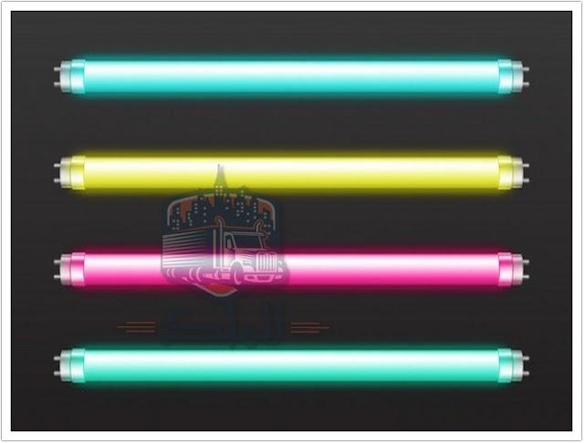 اختيار أشكال وقواعد LED