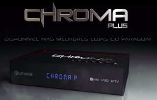 ATUALIZAÇÃO ALPHASAT CHROMA PLUS / GO   - 12/09/2018
