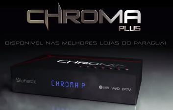 atualização - NOVA ATUALIZAÇÃO  da marca ALPHASAT Chroma%2BPlus