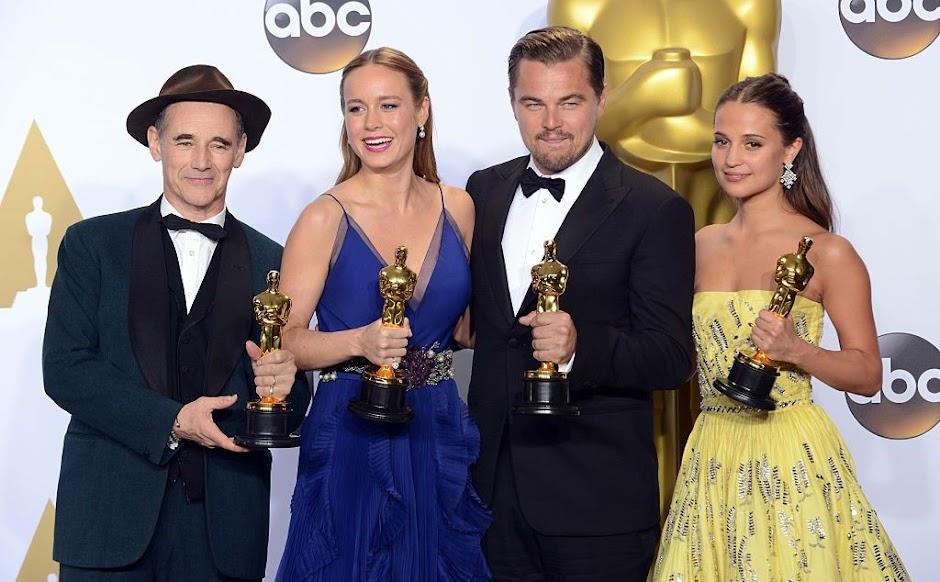 Oscar 2017 | DiCaprio, Larson, Rylance e Vikander vão apresentar vencedores da Premiação