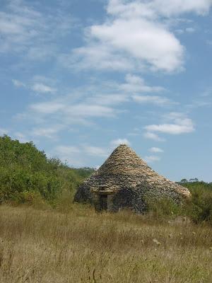 Borie de pierres séches, Calviac, malooka