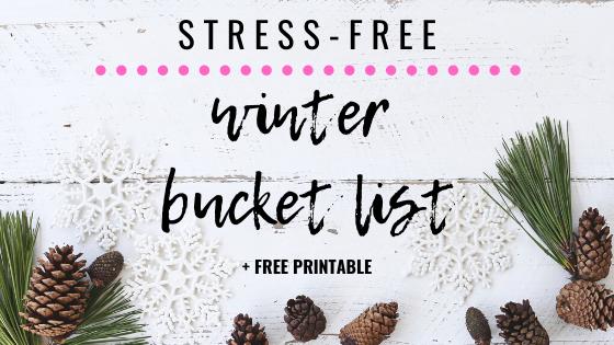 winter bucket list, bucket list, holiday bucket list, christmas bucket list