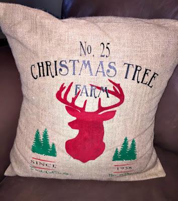 Farmhouse Decor, Christmas Decor, Rustic, Stampin Up Decorations