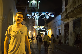 ruas cartagena noite natal