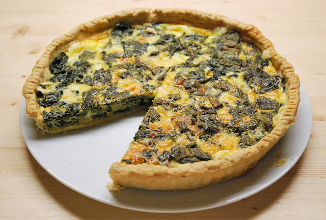 Quiche aux orties