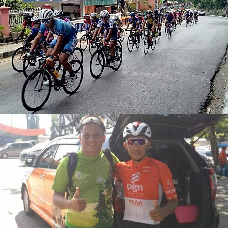 Pembalap Indonesia Jamalidin Novardianto Juara Etape VIII Sungaipenuh-Pessel