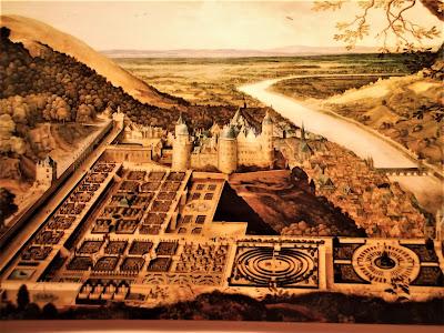 Heidelberger Schloss Gartenanlagen 1620