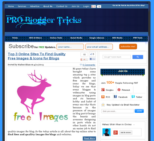 Best Blogger themes: All bloggingways