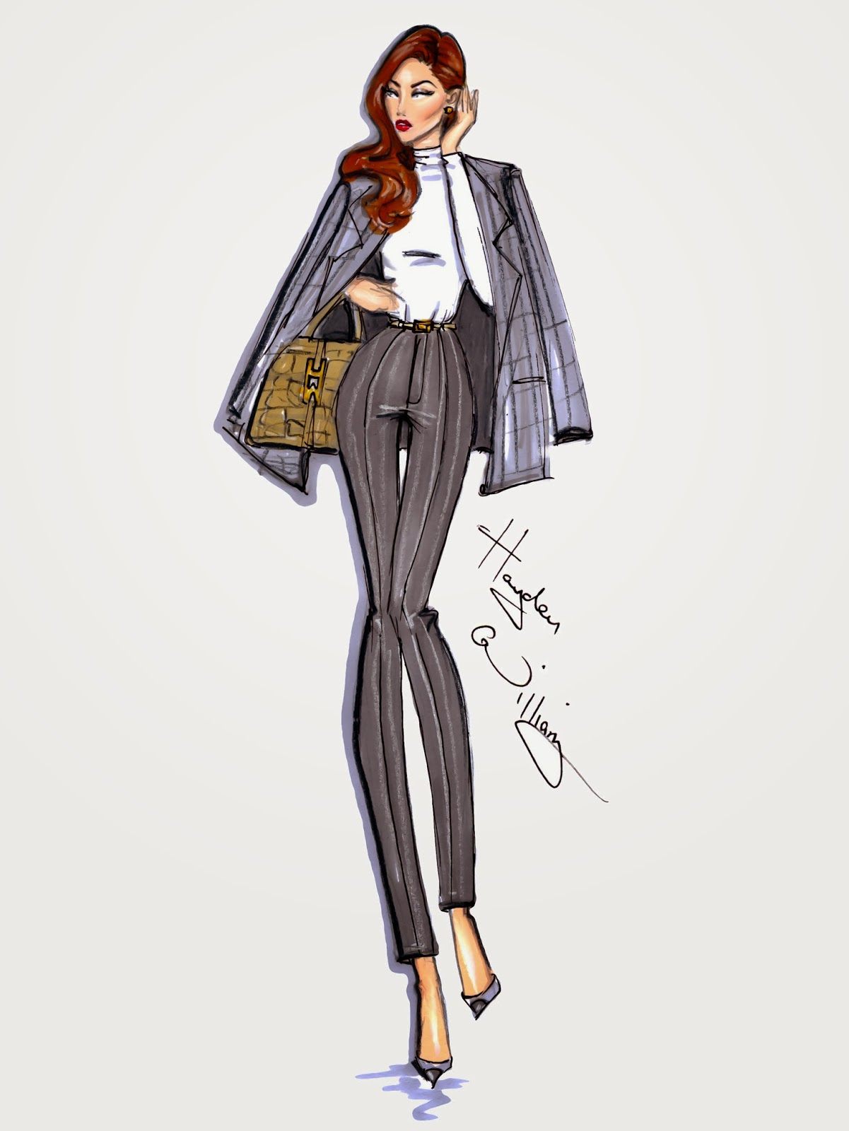 Hayden Williams Fashion Illustrations: December 2013