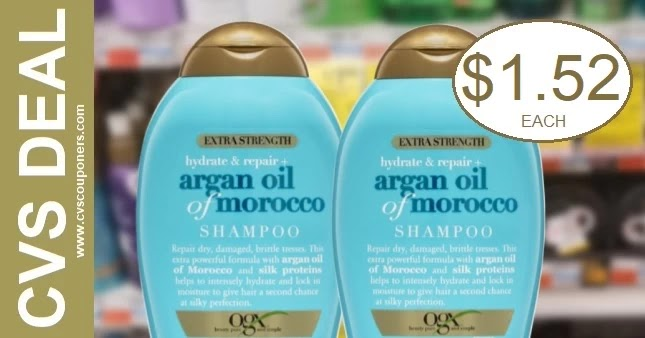 Cheap Deals on OGX Shampoo at CVS 6-20-6-26
