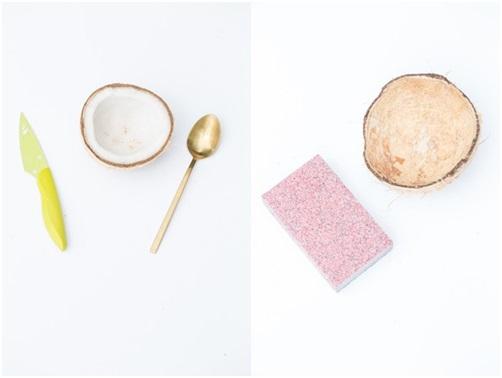 Hindistan Cevizi Kabuğundan Şekerlik Yapımı