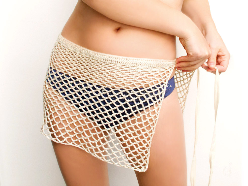 Excellent Katrinshine: Crochet wrap beach skirt KX33