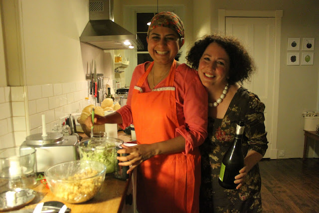 Meena and Aoife Behan, Edinburgh supper club hostesses