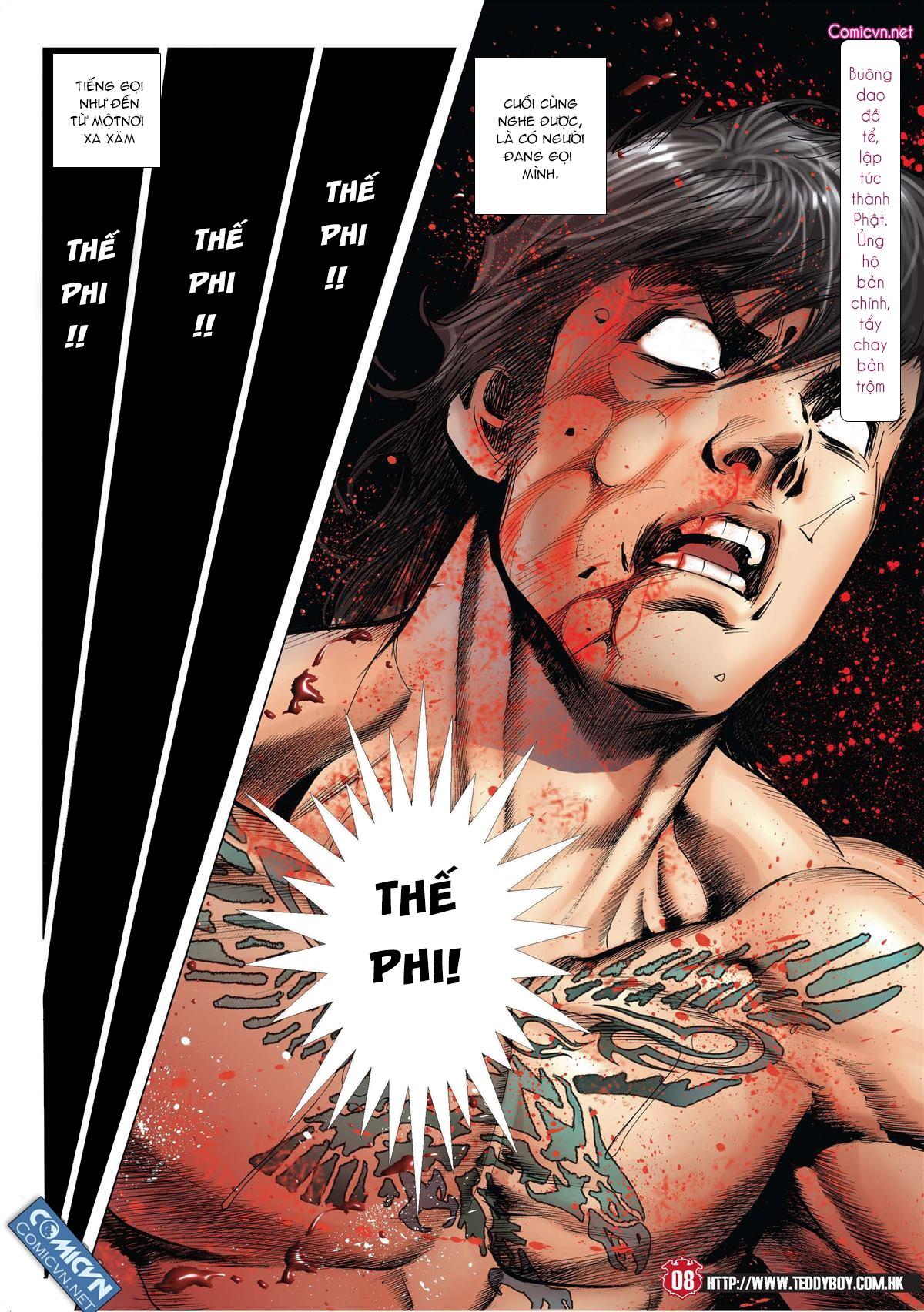 Người Trong Giang Hồ chapter 2001: tự tận trang 7