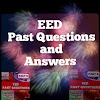 EED Past Questions and Answers for National Diploma