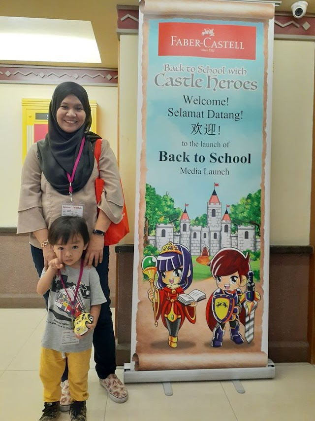 Faber Castell's Back to School Campaign.
