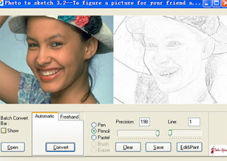 photo to pencil sketch software