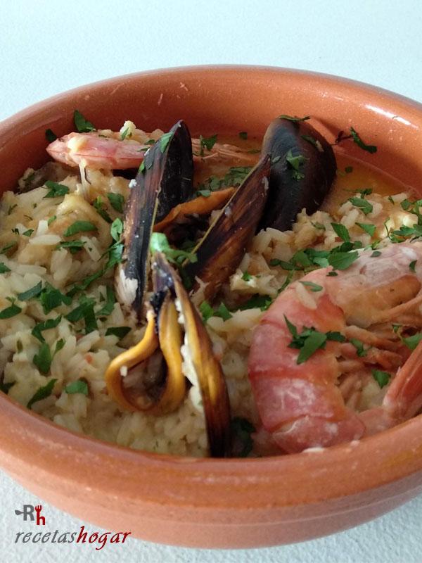 Receta casera de Zarzuela de pescado y marisco