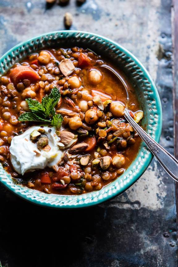 Crockpot Moroccan Soup | Land of Honey