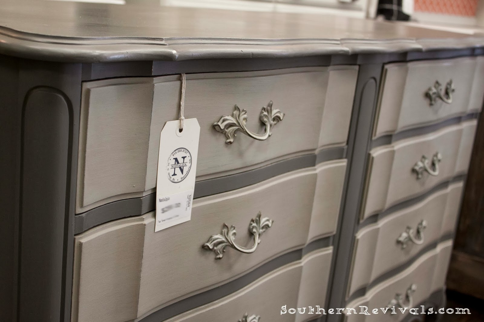 For The Love Of Two Grays Toned Gray Dresser