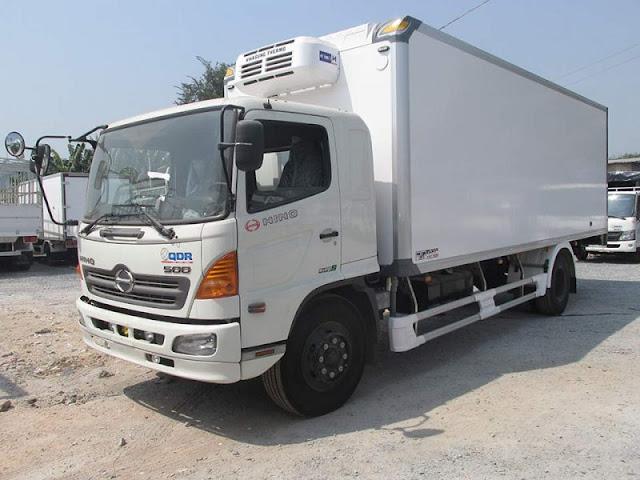 Xe đông lạnh 6 tấn Hino FC 500