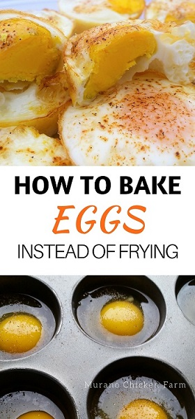 How to oven bake eggs