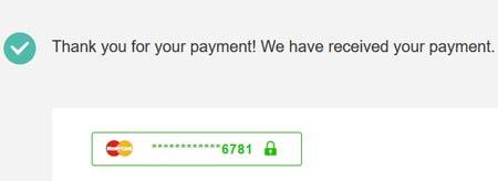 Transaksi Berhasil Dengan VCN Debit Online BNI