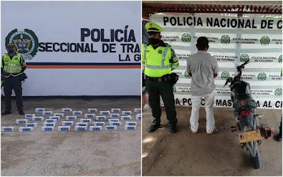 hoyennoticia.com, 'Batidas' en carreteras guajiras dejan dos capturas y mercancía de contrabando incautada