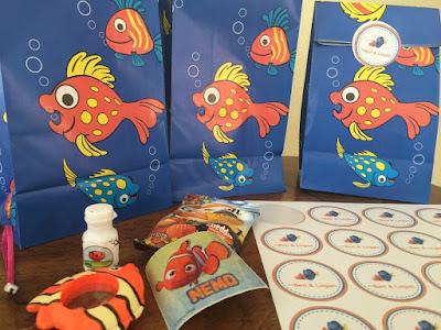 Finding Nemo Pre-School Birthday Gift Bags