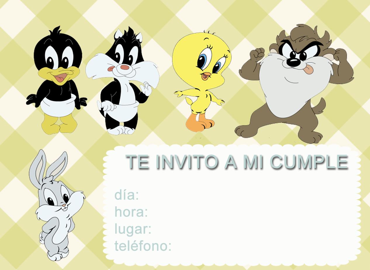 Tarjetas De Looney Tunes Baby Imagui
