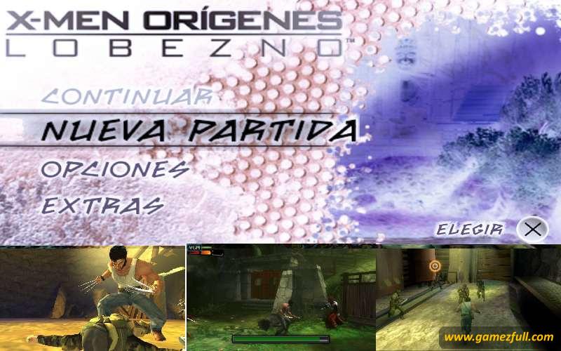 X-Men Origins Wolverine PSP Full Español