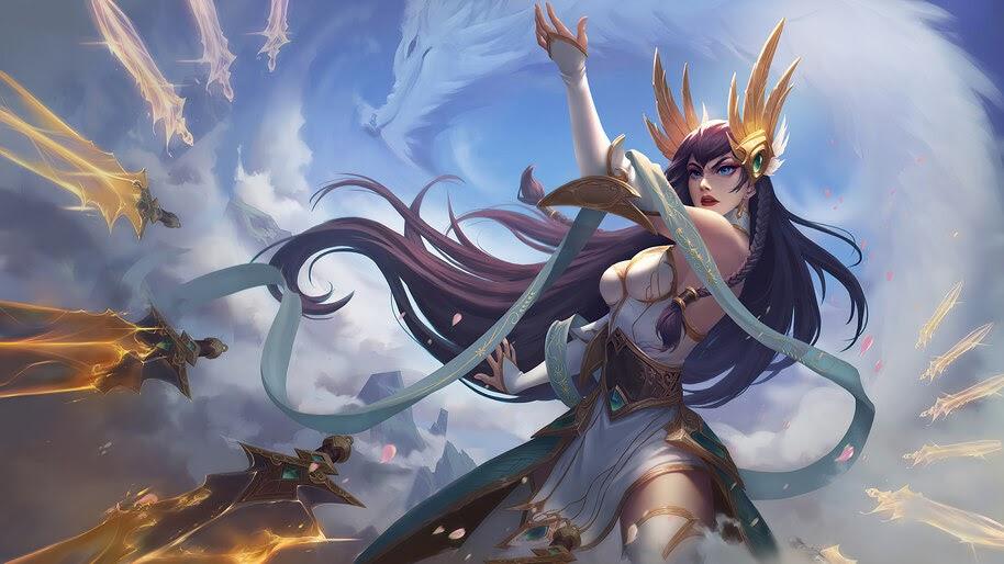 LoL, Irelia, Divine Sword, 4K, #7.2640