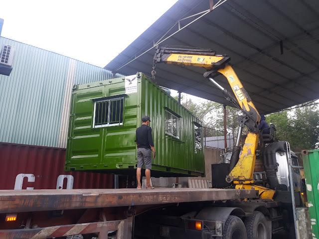 Container Văn Phòng Cho Thuê Về Bàu Bàng