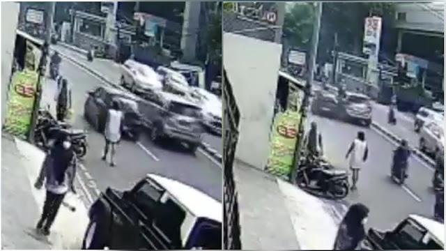 Tersangka Kecelakaan Maut Pasar Minggu Serempet Mobil Polisi karena Dipukul