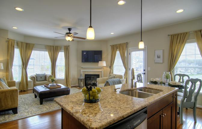 Pottery barn style house home design - Home design and style