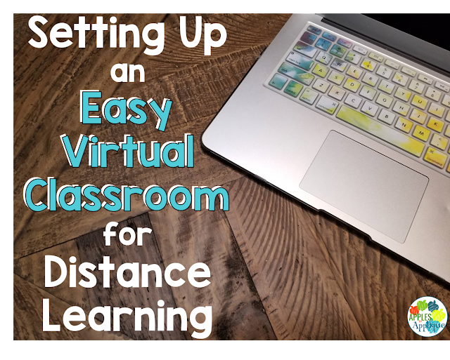Setting Up an Easy Virtual Classroom | Apples to Applique