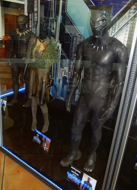 Black Panther film costumes