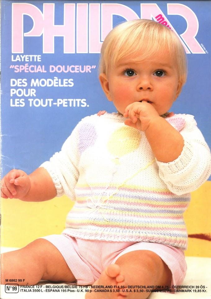 Phildar N°99-Revista Phildar Especial Tricô Bebês